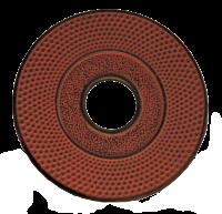Teaclassix Onderzetter rood 14 cm