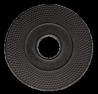 Teaclassix Onderzetter zwart 14 cm